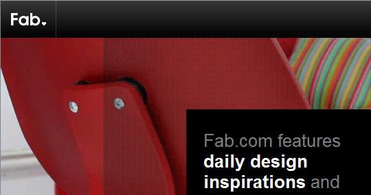 Fab.com, les nouvelles ventes privées Design