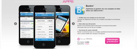 Des apps gratuites avec vente-privee.com
