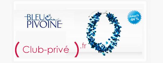 Vente priv e bijoux bleu pivoine agenda ventes priv es - Sites de ventes privees de luxe ...