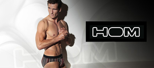 Vente privée de lingerie HOM sur Showroomprive.com