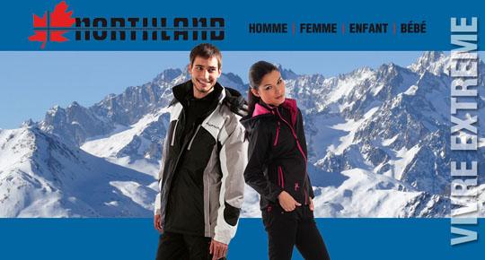 Vente privée de vêtements NORTHLAND sur Showroomprive.com