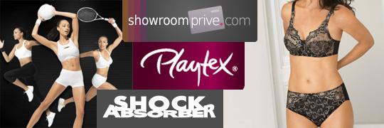 Vente priv e de lingerie playtex et shock absorber sur - Meilleurs sites de ventes privees ...