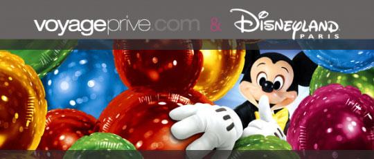 Voyage-Privé.com: Séjour et Parcs Disney à jusqu'a -60% de réduction