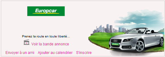 europcar location de v hicules op r e par europcar sur vente agenda ventes priv es. Black Bedroom Furniture Sets. Home Design Ideas