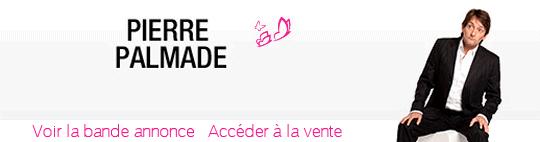 Spectacle Pierre Palmade en avant première sur Vente-Privée.com